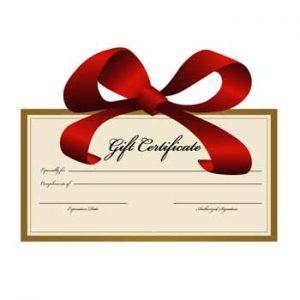 Savannah Bed and Breakfast Gift Certificate