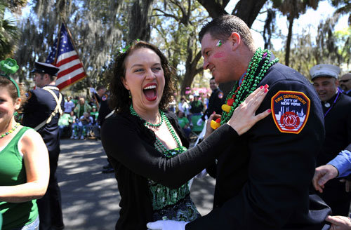 st patrick's day savannah georgia